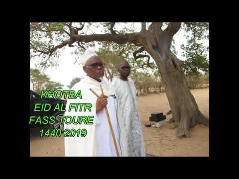 khoutba eid al fitr fass toure 1400 -2019