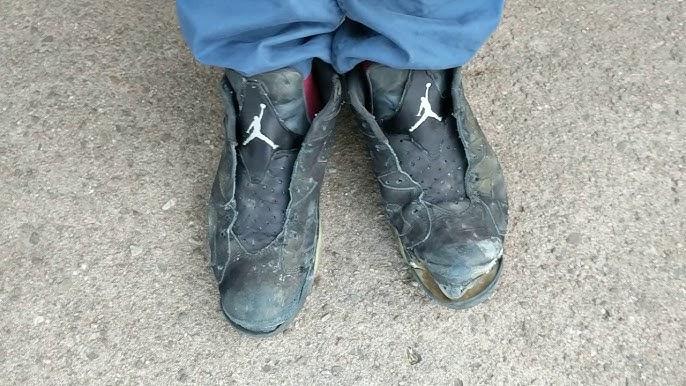 hot sale online fcf7e a4bd8 Trashed Nike Air Jordan Basketball Shoes Morning Destruction Walk-3 ...