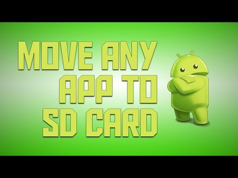 Move ANY App To SD Card