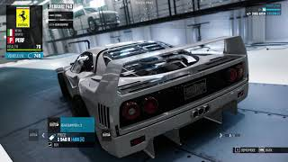 The Crew - Ferrari F40 Perf Spec Customization