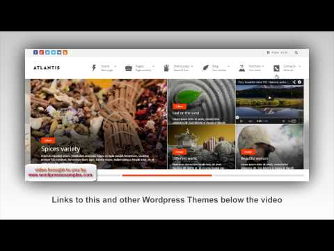 Atlantis WordPress Theme – WordPress Theme Atlantis Demo – Corporate WP theme Atlantis
