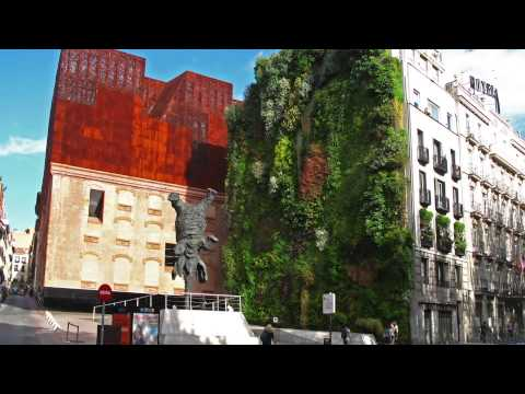 Caixa Forum Museum Vertical Garden - Project of the Week 3/31/14