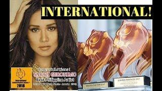 WINNER! Sarah Geronimo wins an INTERNATIONAL award - Golden Panther Awards 2018