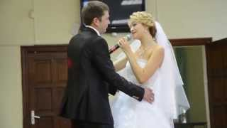 Свадебный сюрприз! Песня невесты жениху (только мой!!!)