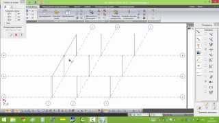 Лира-САПР 2013. Создание схемы. Расчет металлокаркаса. Часть 1