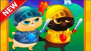 Мультик игра Котик Бубу бесплатные игры для детей В гостях у друга 2 серия / Cartoon game Kotik Bubu