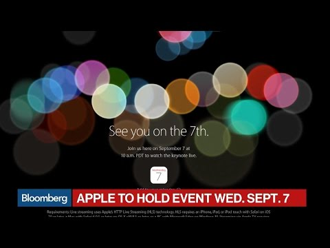 Apple Invitation Announces Sept. 7 Event