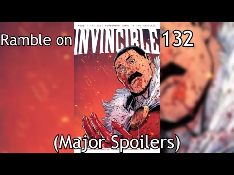 Ramble On Invincible 132 [Comics]