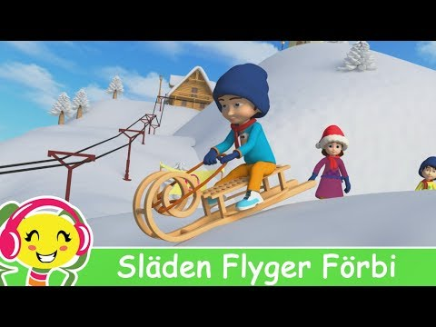 Slden Flyger Frbi  Julmusik fr barn  BarnmusikTV – Cantece pentru copii in limba suedeza