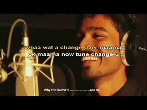 Why This Kolaveri Di Karaoke Instrumentals.mp4
