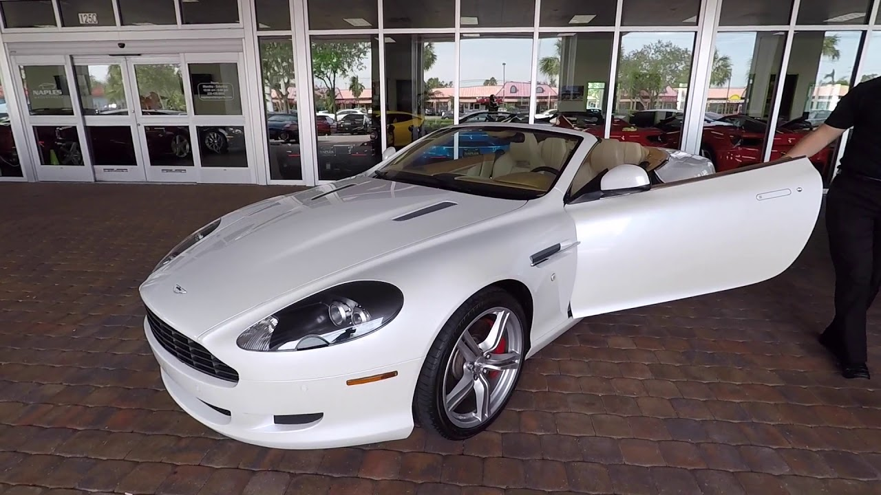 Aston Martin DB Convertible YouTube - Aston martin db9 convertible