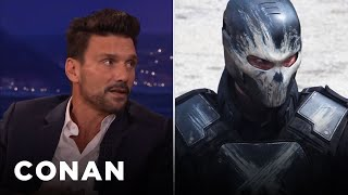 frank grillo really punched chris evans in captain america conan on tbs