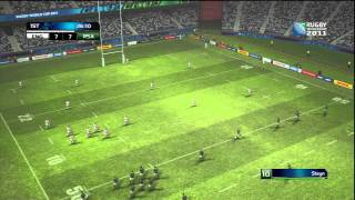 Rugby World Cup 2011 (PS3) Demo Gameplay