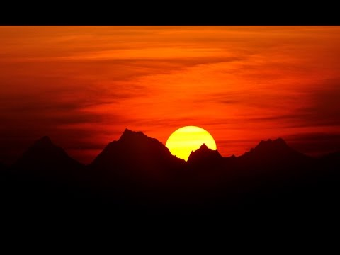Самые красивые закаты Солнца