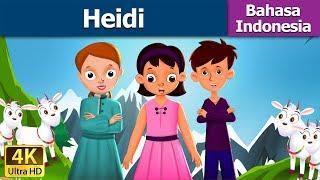 Heidi in Indonesian | Dongeng anak | Kartun anak | Dongeng Bahasa Indonesia