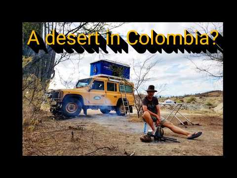A Desert In Colombia?.Land Rover Defender 300tdi.