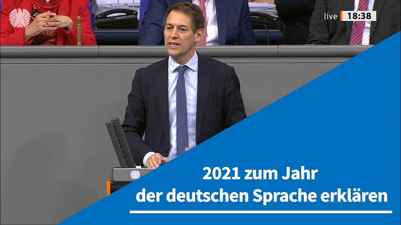 """14.01.2021 """"2021 zum Jahr der deutschen Sprache erklären"""""""