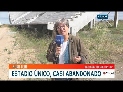 Estadio único casi abandonado - San Nicolás Bs. As.