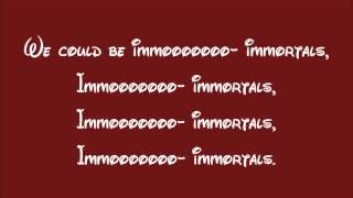 Big Hero 6-Immortals Lyrics
