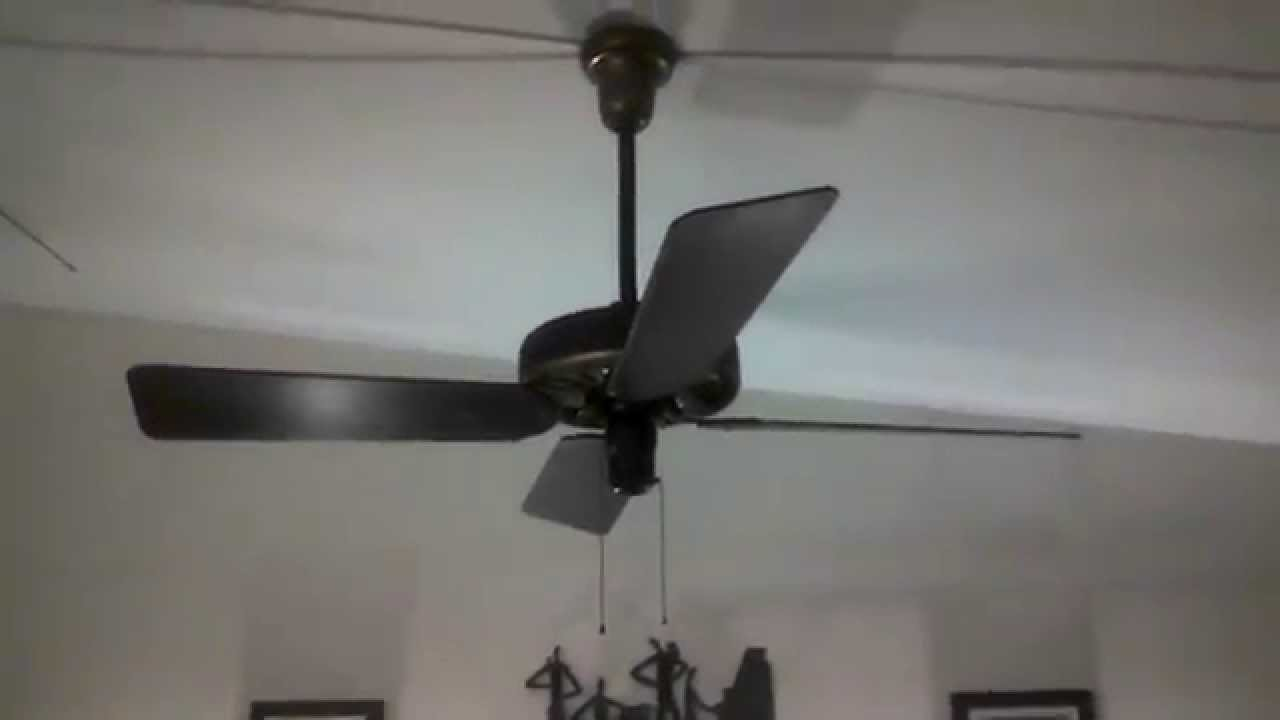 Emerson Quot Roundnose Quot Antique Ceiling Fan Model 87641 Youtube