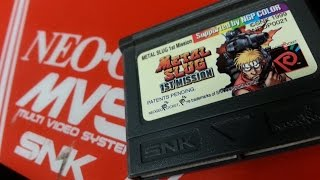 Classic Game Room - METAL SLUG 1ST MISSION review for Neo-Geo Pocket Color
