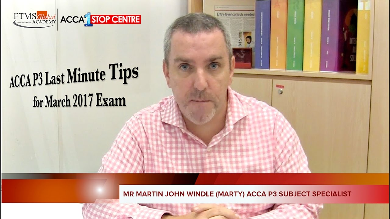 ACCA Exam Tips from FTMSGlobal - helps you pass your exams!