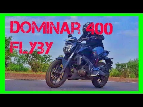 Dominar 400 FLYBY | Exahust Note