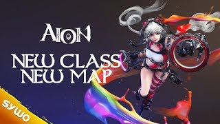 AION Patch 7.0 | NEW CLASS Painter & NEW MAP Dumaha