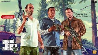 GTA V - Jugando Una Misión Al Azar #2 !!! | PS4 | - Daniman97