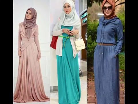Hijab dress fashion design