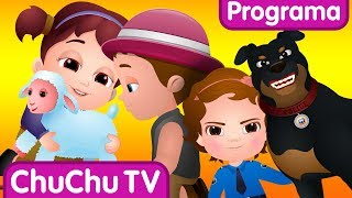 ChuChu TV Huevos Sorpresas de Policías – Episodio 07 - El Robo de Borregos   ChuChu TV Sorpresa
