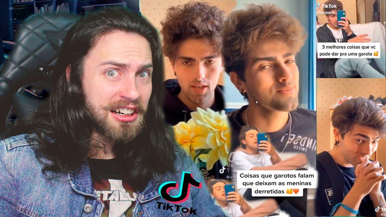 Reagindo ao GALÃ DO TikTok Mario Jr Derrentendo MULHERES