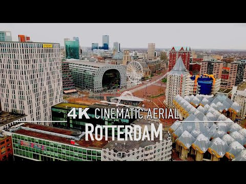 ROTTERDAM Drone [4K] NETHERLANDS Nederland Ultra HD