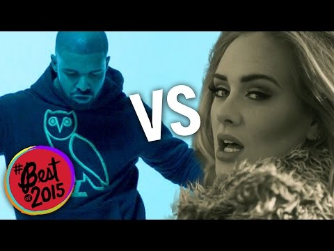 "Adele's ""Hello"" vs. Drake's ""Hotline Bling"": Most Overplayed Song of 2015"