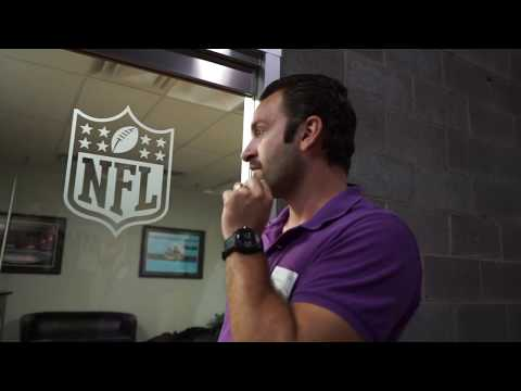 A 90min Bank of America/Panther Stadium tour in just 5mins.