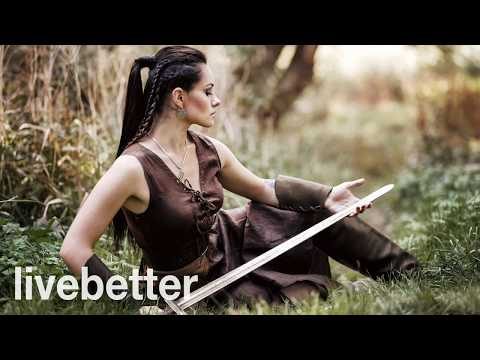 Irish Celtic Music Relaxing Instrumental Medieval, Drums and