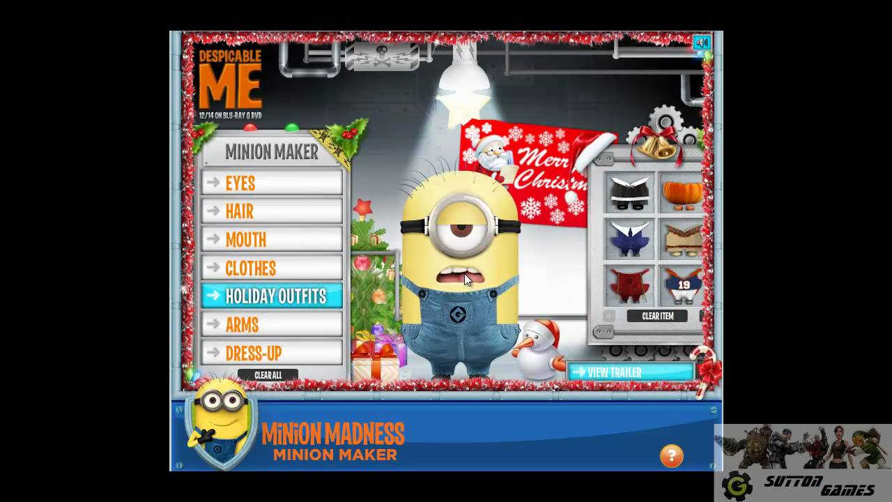 Minion Creator Despicable Me Youtube