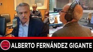 Alberto Fernández GIGANTE dejó callado a Mario Pereyra