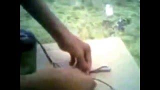 Cara membuat pemotong gabus sederhana