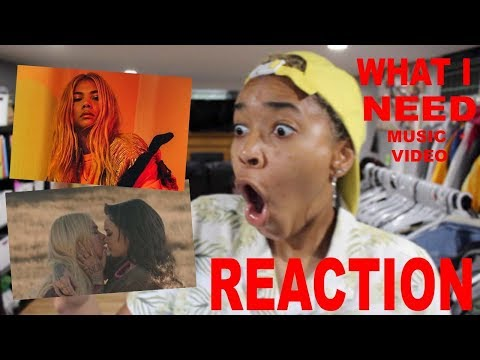 Hayley Kiyoko - What I Need ft. Kehlani**REACTION**