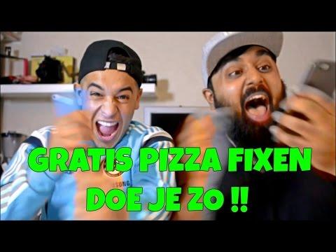 PRANK CALLS GRATIS PIZZA FIXEN MET NOATUBE