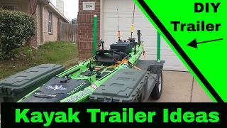 Kayak Trailer - Things to consider when building your kayak trailer