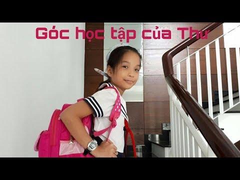 Giới thiệu góc học tập của Thư - Việt Thiên Thư Channel
