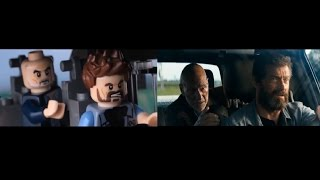 LEGO Logan official trailer side by side