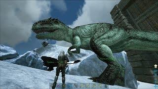 9 ARK Survival EvolvedValguero Соло приручение топового Гиганотозавра