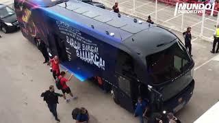 El Barça llega a Montilivi para enfrentarse al Girona
