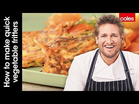 How to make quick vegetable fritters with Curtis Stone