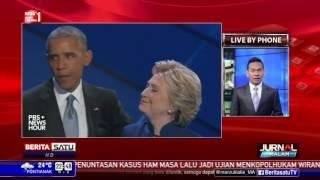 Hillary Tampil di Konvensi Nasional Partai Demokrat
