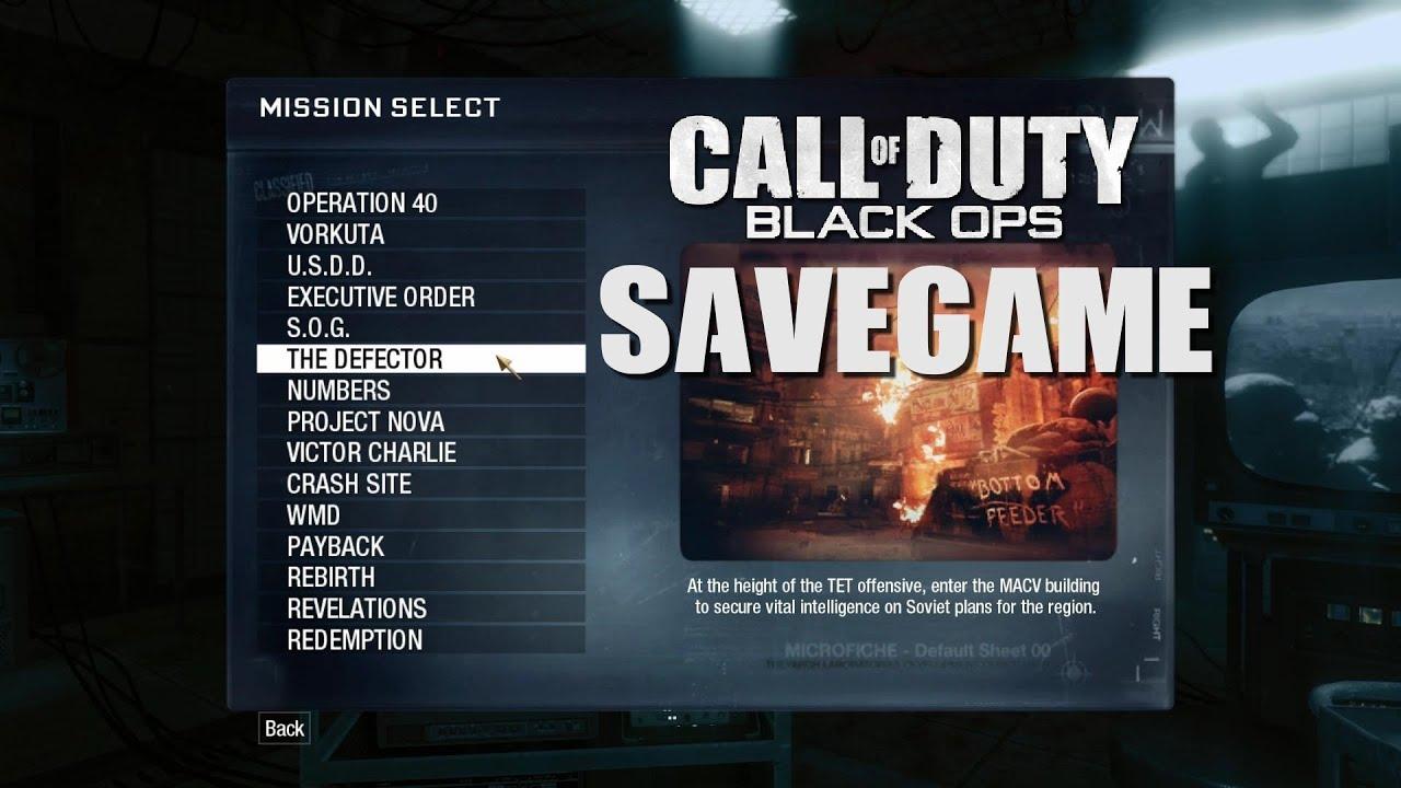 Call of Duty 7 Black Ops Save Game Dosyası – CoDSaveGame ... -
