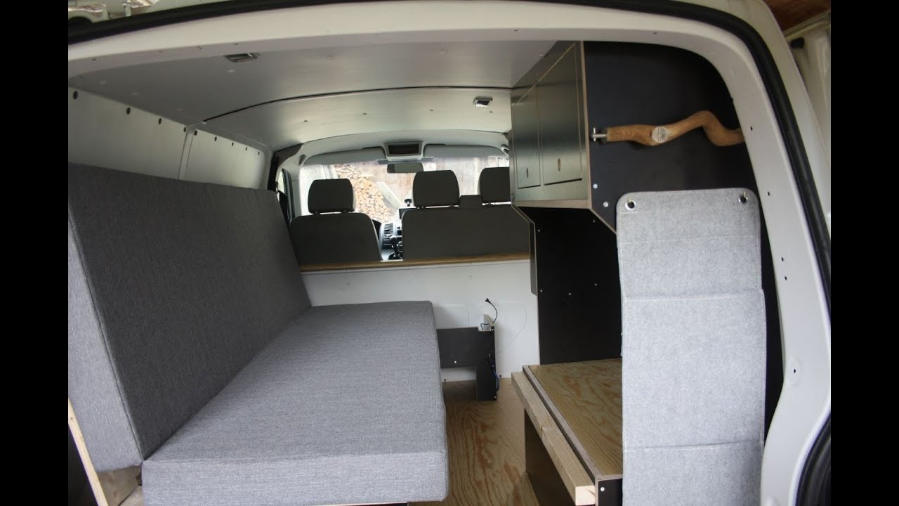 umbau vw t5 transporter zu camper ii youtube. Black Bedroom Furniture Sets. Home Design Ideas
